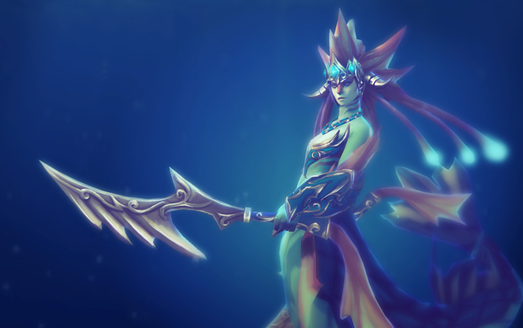 girl, the game, dota 2, naga siren
