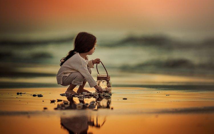 море, breath in the ocean, lilia alvarado, поза, песок, пляж, дети, девочка, ребенок, прибой, sea, pose, sand, beach, children, girl, child, surf