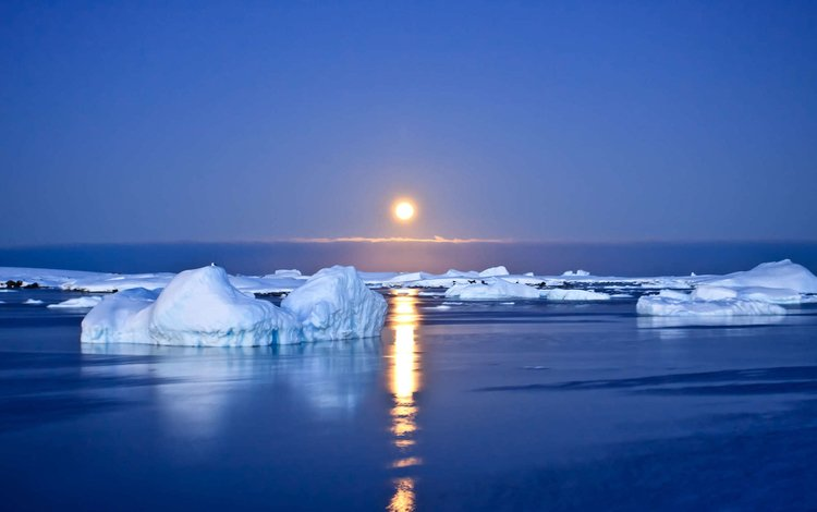 water, the sun, ice, antarctica
