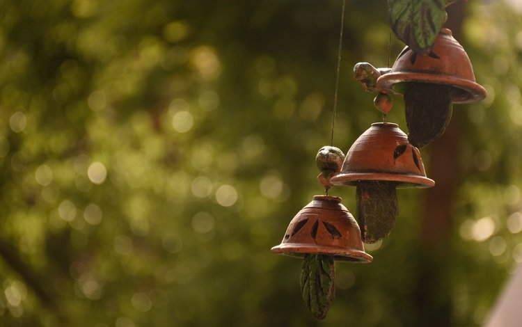 glare, bells, bokeh, bell, suspension