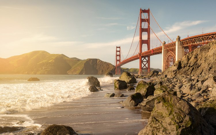 bridge, san francisco, ca, golden gate