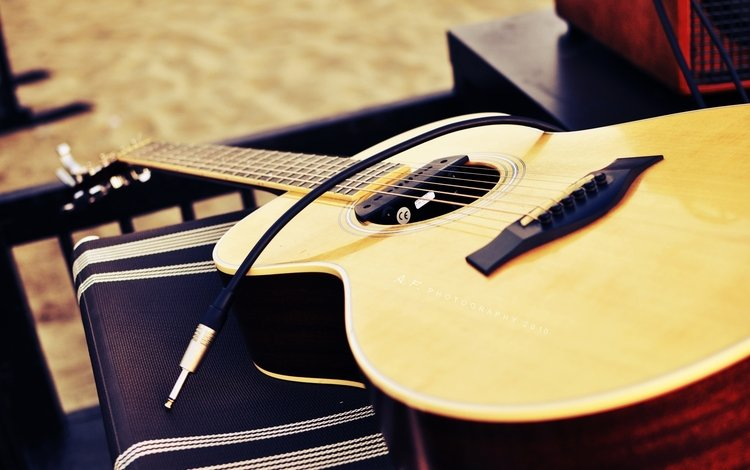 guitar, music, musical instrument