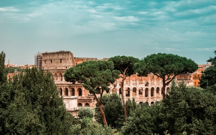 italy, colosseum, rome