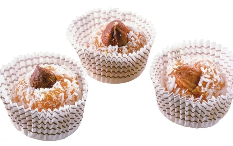 бумага, белый фон, кексы, paper, white background, cupcakes