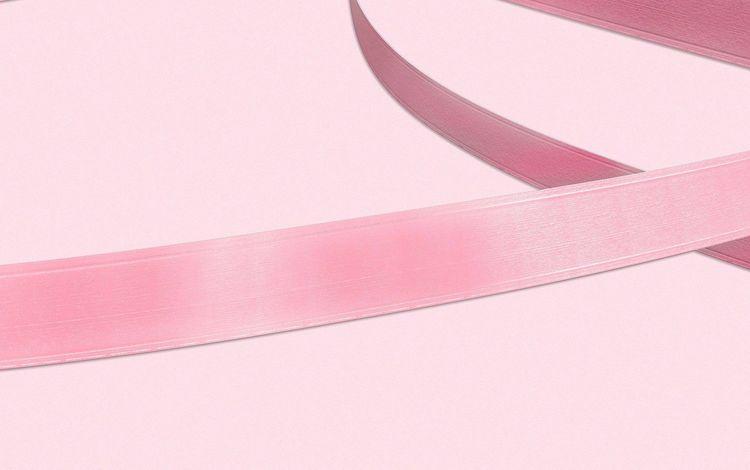 tape, ribbon, pink, satin