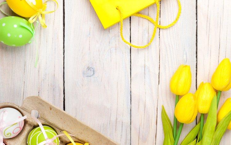 украшения, весна, тюльпаны, пасха, яйца, decoration, spring, tulips, easter, eggs