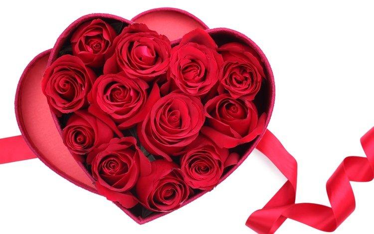 цветы, розы, сердечко, сердце, красные розы, flowers, roses, heart, red roses