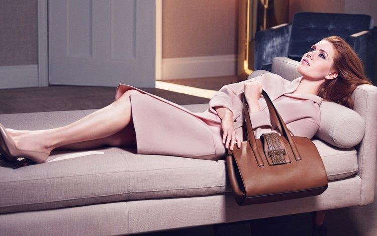 девушка, актриса, фотосессия, пальто, сумка, эми адамс, girl, actress, photoshoot, coat, bag, amy adams