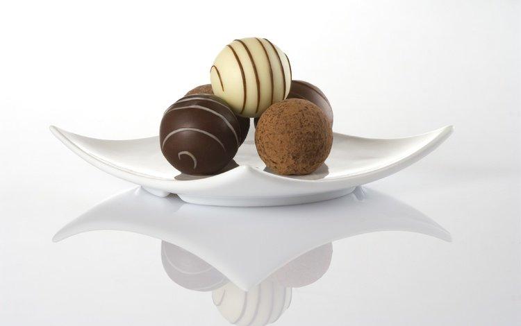 конфеты, шоколад, сладкое, тарелка, candy, chocolate, sweet, plate