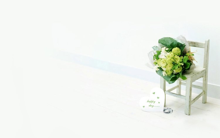 букет, кольца, свадьба, bouquet, ring, wedding