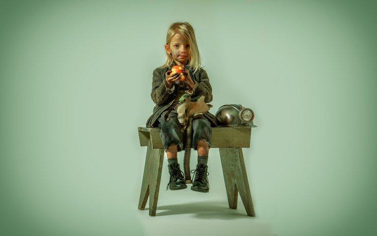 background, portrait, the film, girl, miner, the hunger games: mockingjay
