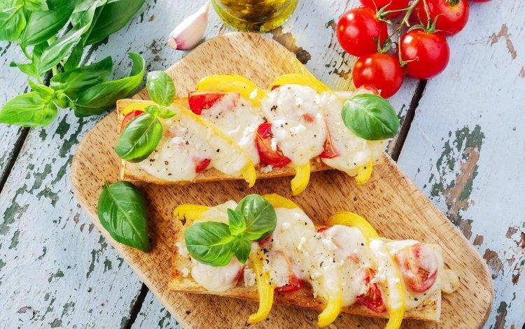листья, сыр, хлеб, помидоры, перец, специи, бутерброды, leaves, cheese, bread, tomatoes, pepper, spices, sandwiches