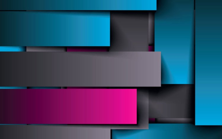 strip, abstraction, color, material, geometry