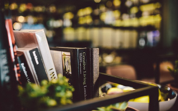 книги, боке, полка, karolina grabowska, books, bokeh, shelf