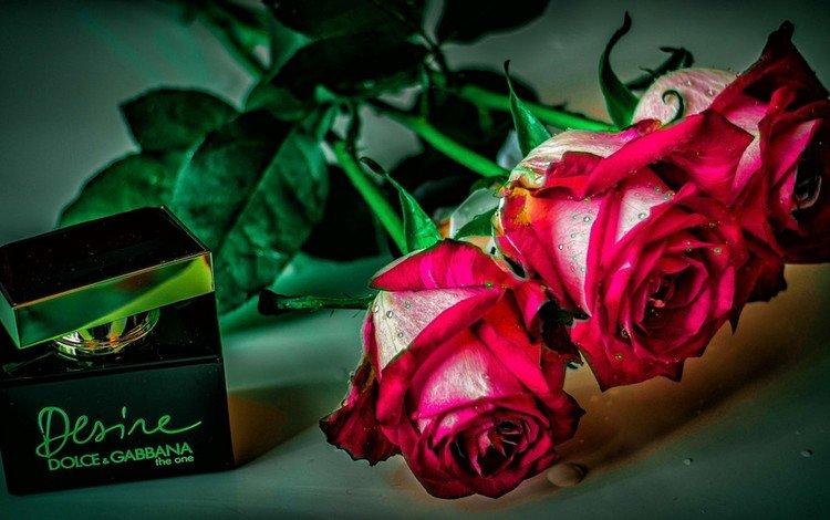 цветы, розы, духи, флакон, flowers, roses, perfume, bottle