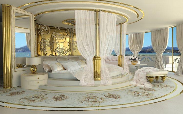 интерьер, спальня, interior, bedroom