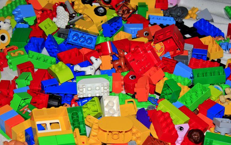 разноцветный, лего, игрушки, конструктор, colorful, lego, toys, designer