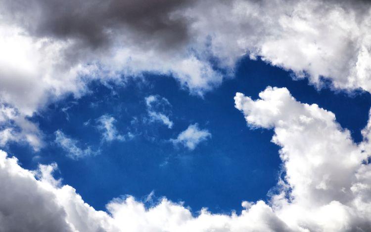 небо, облака, природа, the sky, clouds, nature