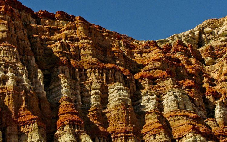 небо, природа, гора, каньон, калифорния, рельеф, национальный парк, красный каньон, the sky, nature, mountain, canyon, ca, relief, national park, red canyon