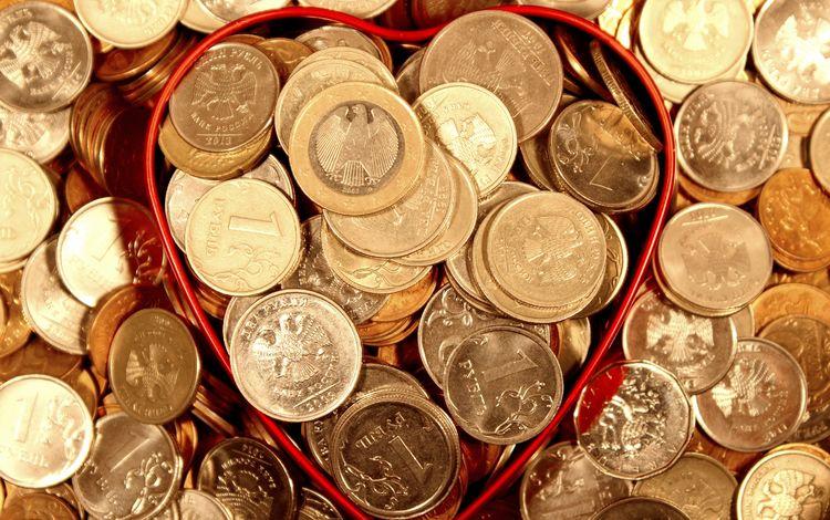 металл, деньги, монеты, рубли, metal, money, coins, rubles