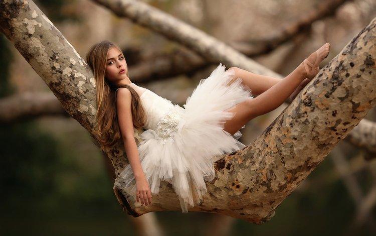дети, девочка, снежинка, белое платье, балерина, пуанты, katie andelman, children, girl, snowflake, white dress, ballerina, pointe shoes