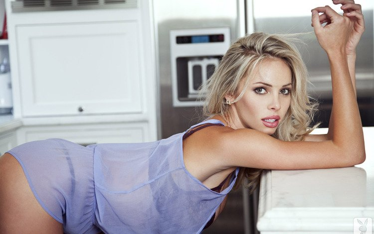 девушка, поза, блондинка, взгляд, волосы, лицо, devin justine, girl, pose, blonde, look, hair, face