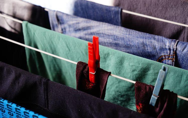 вещи, одежда, веревка, прищепки, текстиль, things, clothing, rope, clothespins, textiles