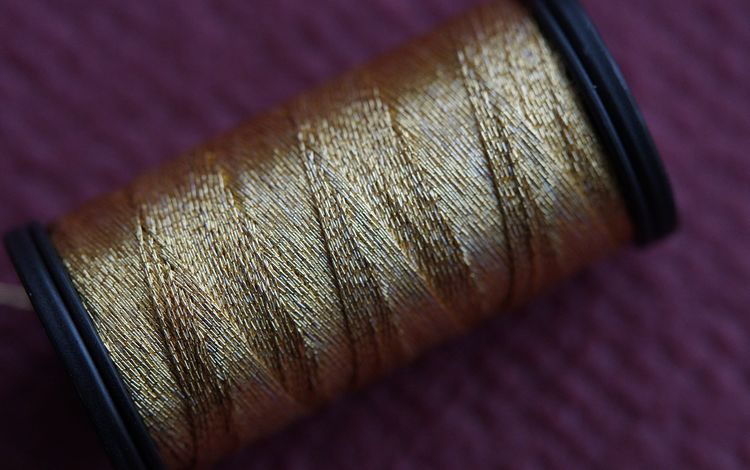 макросъемка, нить, нитки, крупным планом, катушка, macro, thread, closeup, coil
