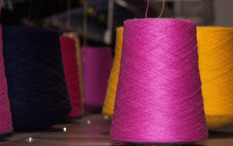 разноцветные, нитки, пряжа, colorful, thread, yarn