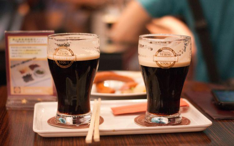 кафе, стол, бокалы, пиво, cafe, table, glasses, beer