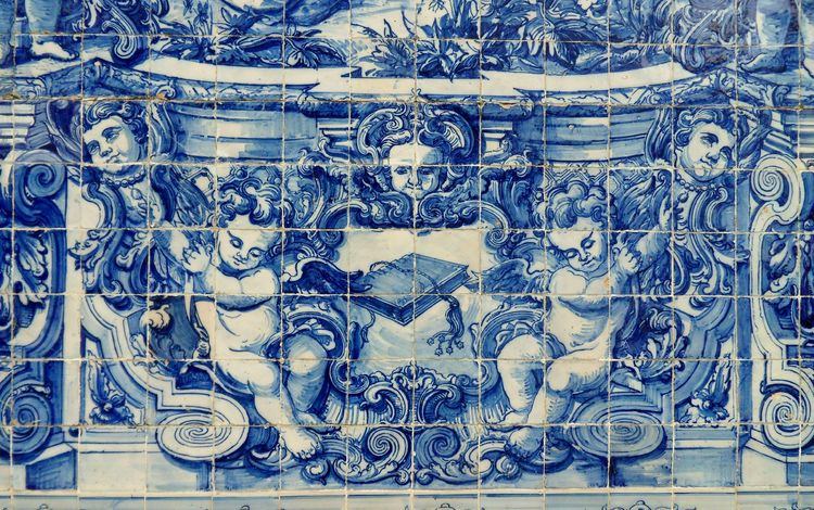картина, португалия, плитка, фасад, изобразительное искусство, иллюстрация, азулежу, picture, portugal, tile, facade, fine art, illustration, azulejos