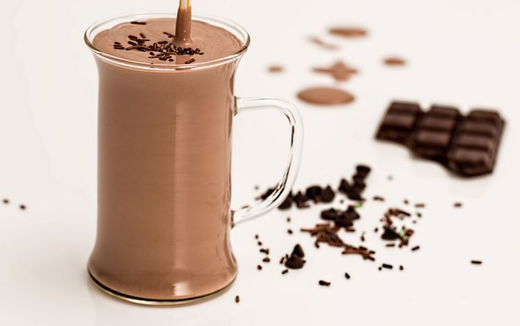 напиток, кружка, белый фон, шоколад, какао, горячий шоколад, drink, mug, white background, chocolate, cocoa, hot chocolate