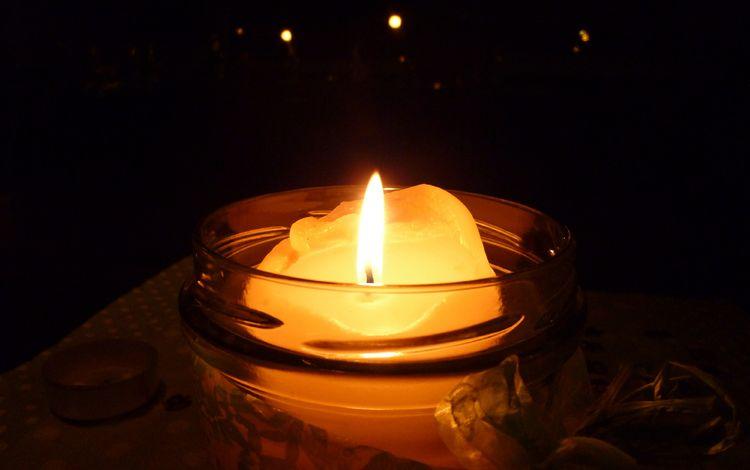ночь, пламя, огонь, свечка, темнота, свеча, темно, night, flame, fire, candle, darkness, dark