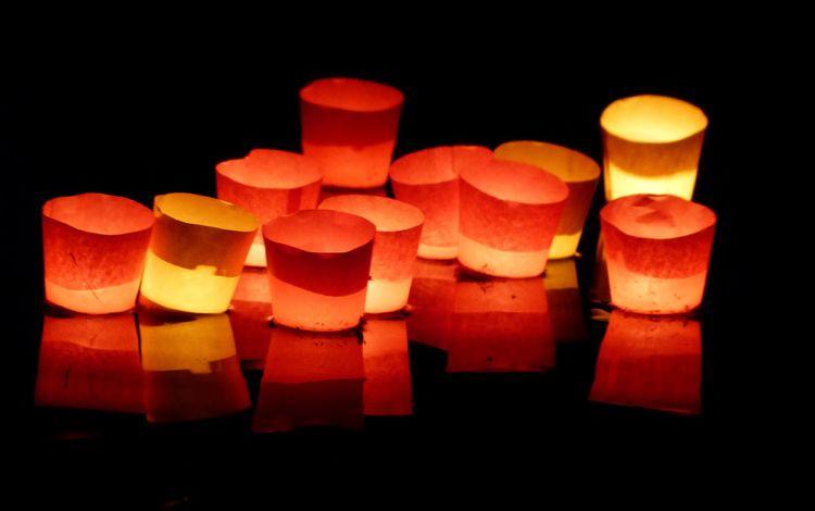 свет, огни, свечи, настроение, отражение, цвет, черный фон, свечки, light, lights, candles, mood, reflection, color, black background, candle
