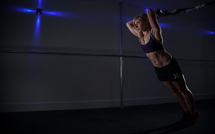 девушка, блондинка, фитнес, тренировки, girl, blonde, fitness, workout