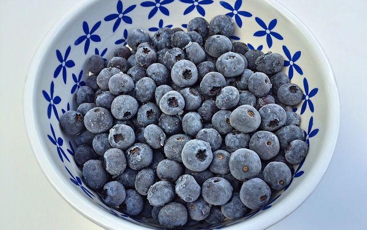 фон, иней, ягоды, лесные ягоды, черника, голубика, background, frost, berries, blueberries
