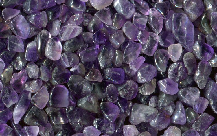 stones, purple, crystals, pebbles, amethyst, minerals, gemstone
