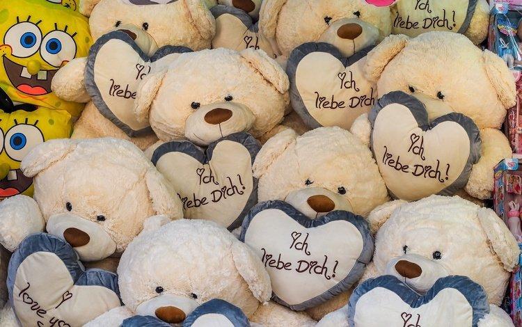 фон, мишки, игрушки, сердечки, медведи, губка боб, плюшевый медведь, background, bears, toys, hearts, spongebob, teddy bear