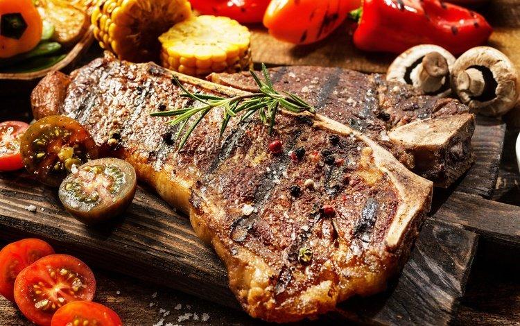 грибы, овощи, мясо, помидоры, перец, специи, mushrooms, vegetables, meat, tomatoes, pepper, spices