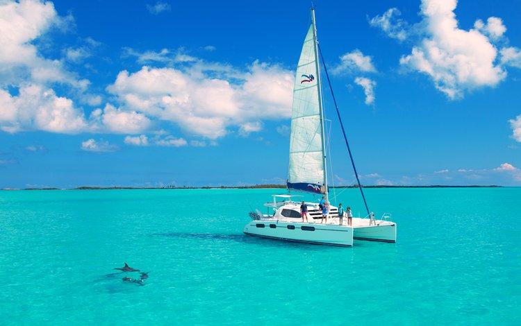 sea, yacht, stay