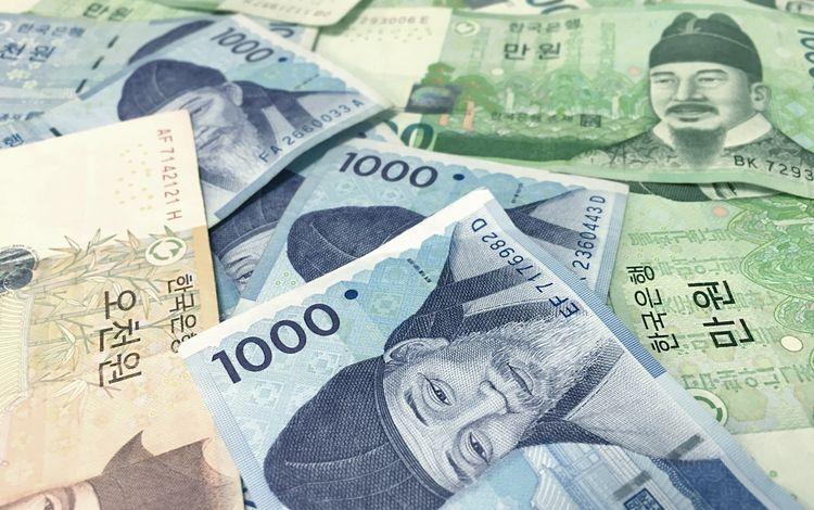 азия, деньги, валюта, купюры, корея, asia, money, currency, bills, korea
