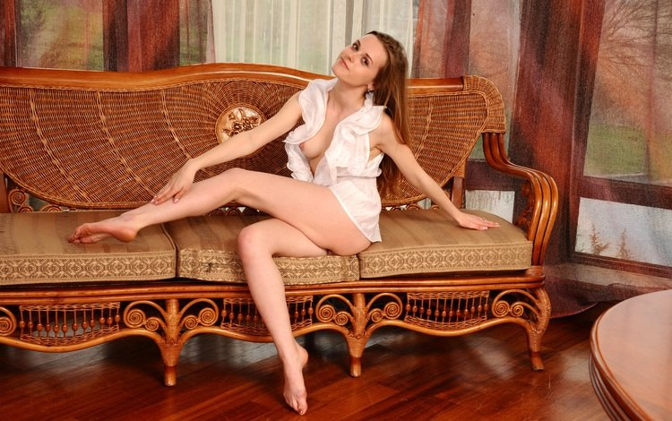 девушка, модель, грудь, ножки, girl, model, chest, legs