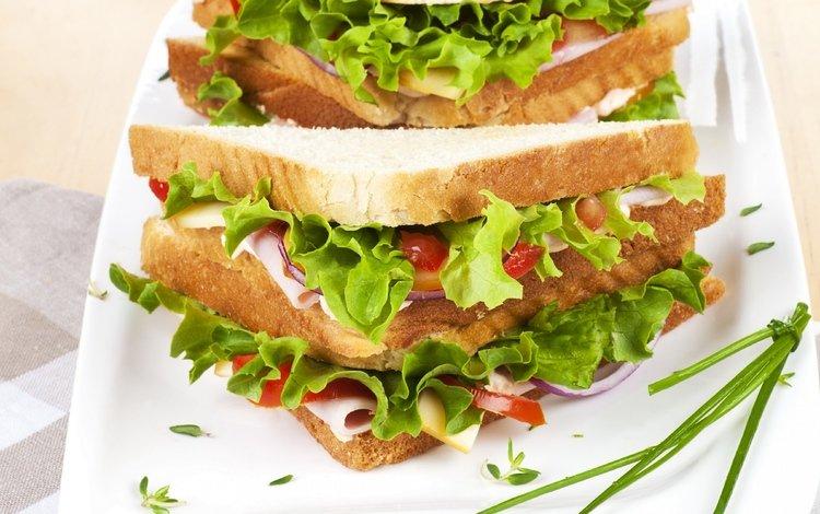 greens, sandwich, vegetables, salad, seafood, fast food