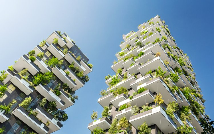 италия, архитектура, милан, вертикальный лес, stefano boeri, gianandrea barreca, giovanni la varra, italy, architecture, milan, vertical forest
