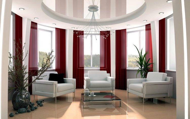 комната, окно, картинки, кресла, гостиная, room, window, pictures, chairs, living room