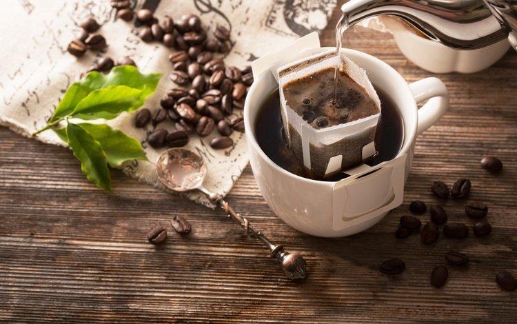 напиток, зерна, кофе, чашка, кофейные зерна, drink, grain, coffee, cup, coffee beans