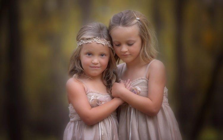 портрет, взгляд, дети, волосы, лицо, девочки, боке, portrait, look, children, hair, face, girls, bokeh