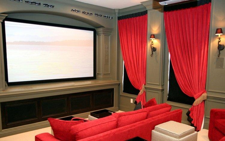 стиль, ipad mini retina, комната, диван, экран, 3, кинотеатр, 4, интерьер обои, картинки new ipad air, style, room, sofa, screen, cinema, interior wallpaper, pictures of the new ipad air