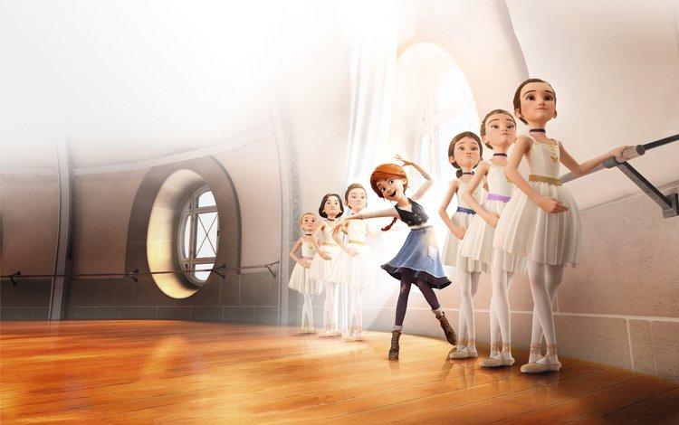 мультфильм, балерина, балерины, cartoon, ballerina