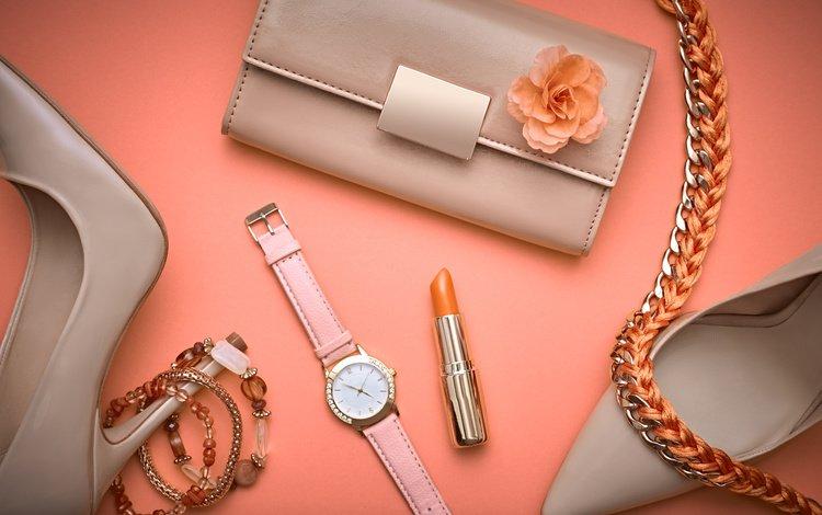 часы, помада, клатч, watch, lipstick, clutch